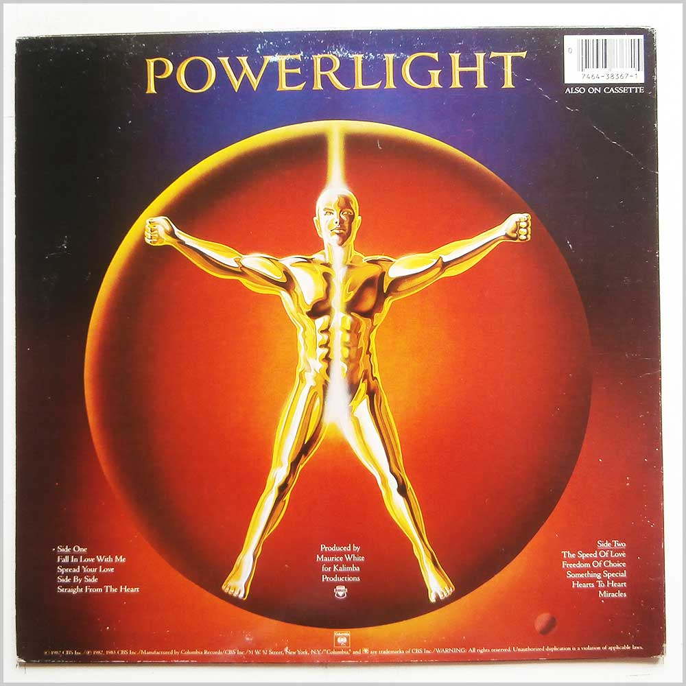 Earth, Wind and Fire - Powerlight (TC 38367)