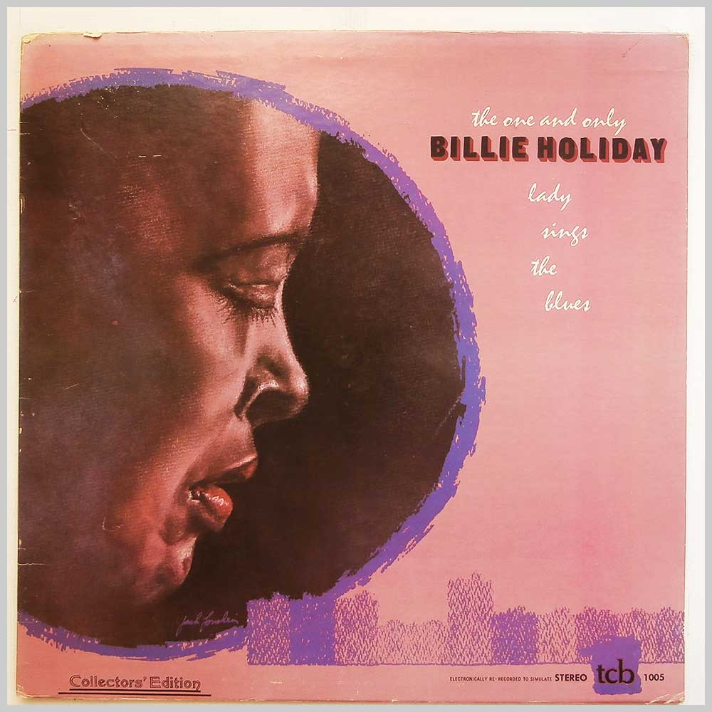 Billie Holiday - The One And Only Lady Sings The Blues (TCB 1005)
