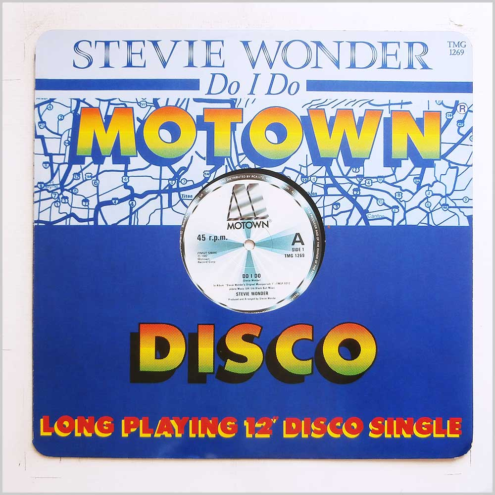 Stevie Wonder - Do I Do (TMG 1269)