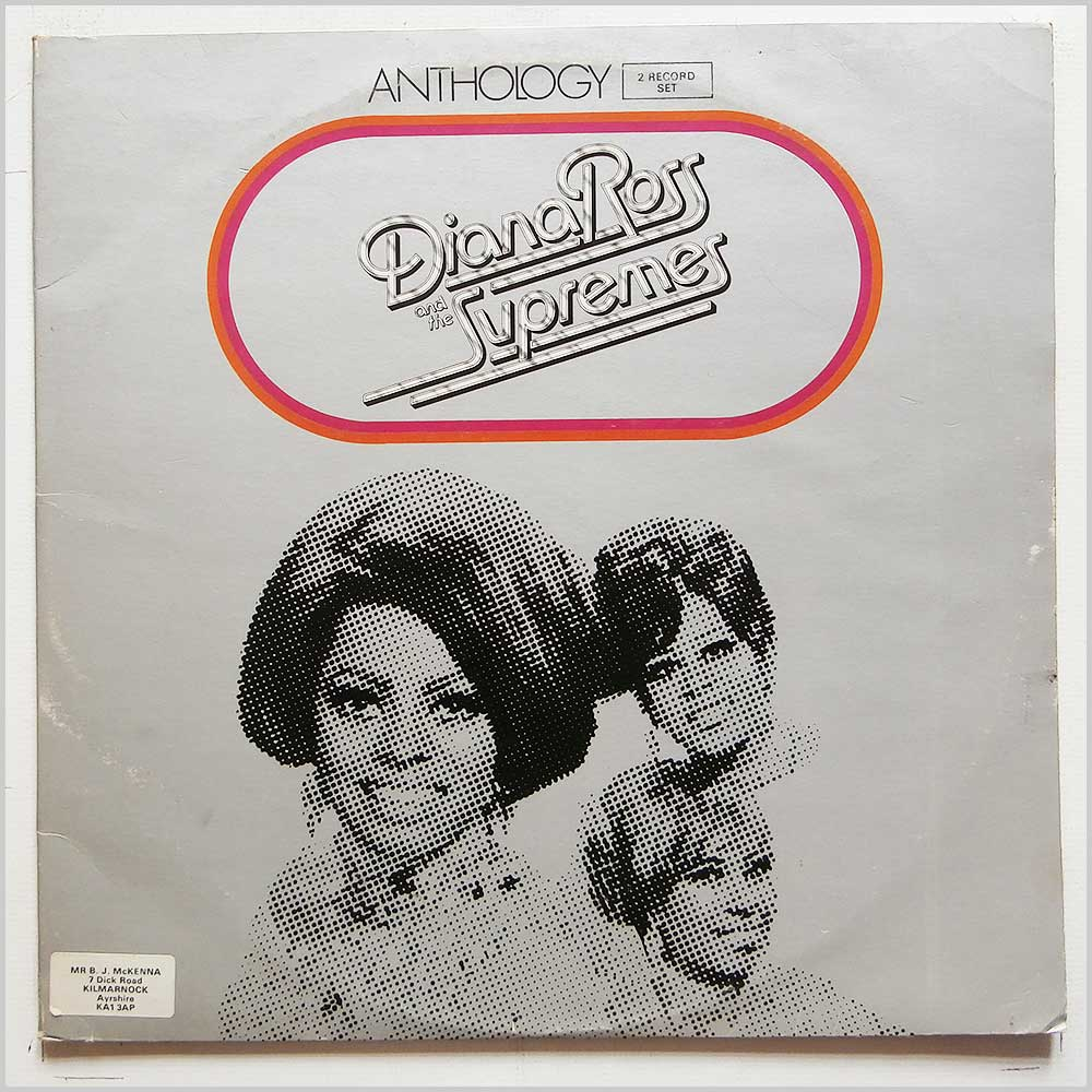 Diana Ross and The Supremes - Anthology (TMSP 6001)