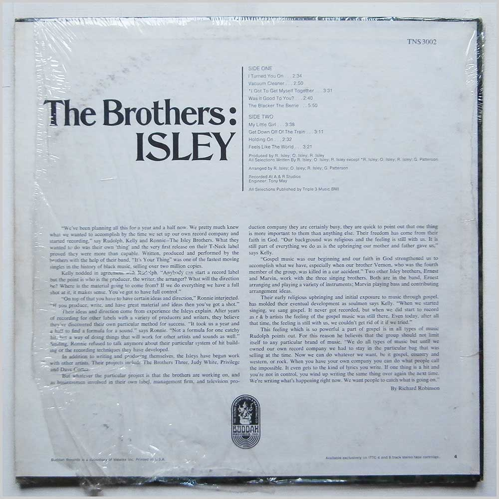 The Isley Brothers - The Brothers: Isley (TNS 3002)