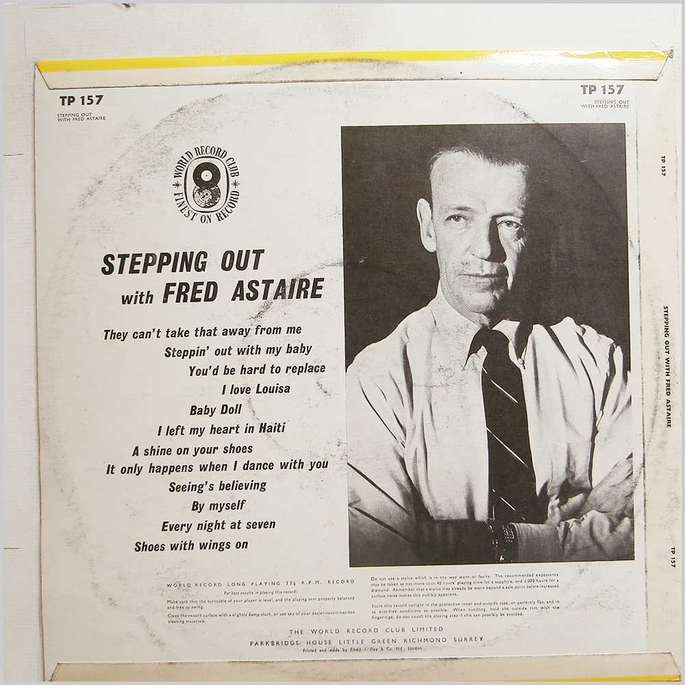 Fred Astaire - Stepping Out With Fred Astaire (TP 157)