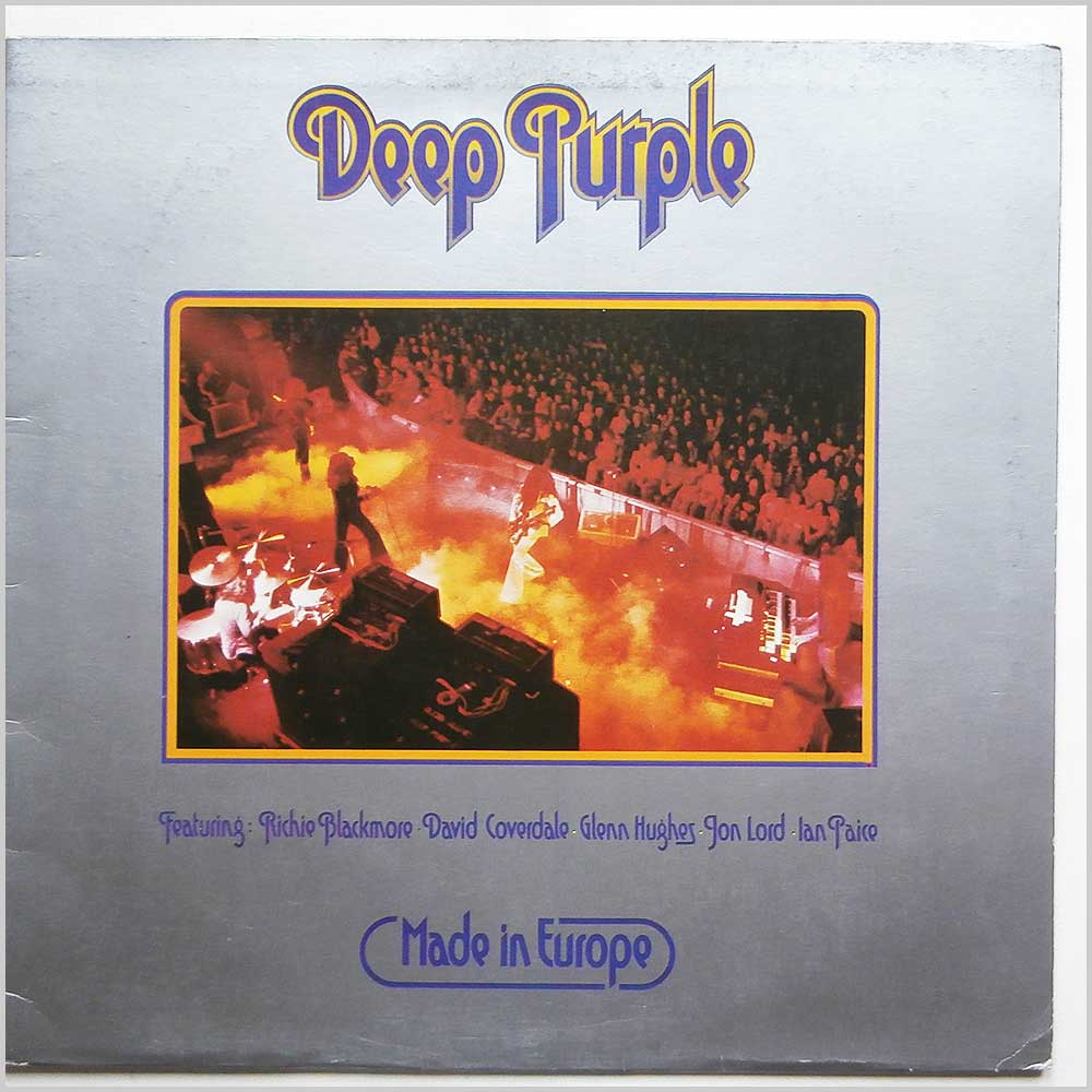 Deep Purple - Made In Europe (TPSA 7517)