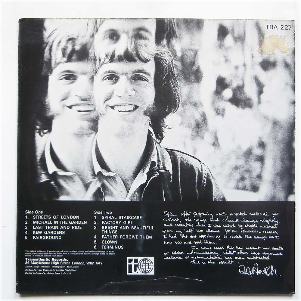 Ralph McTell - Revisited (TRA 227)