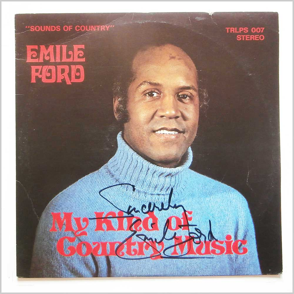 Emile Ford - My Kind Of Country Music (TRLPS 007)