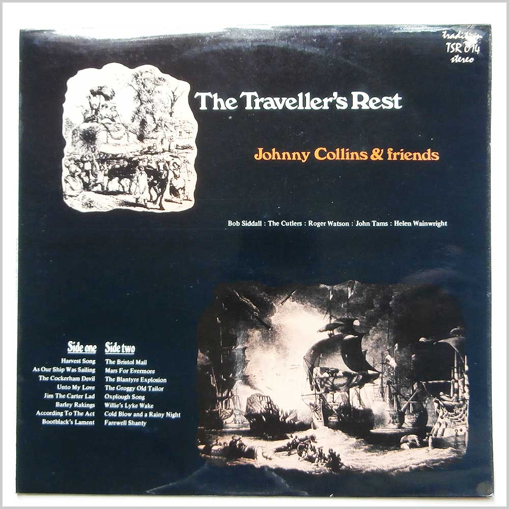 Johnny Collins and Friends - The Traveller's Rest (TSR 014)