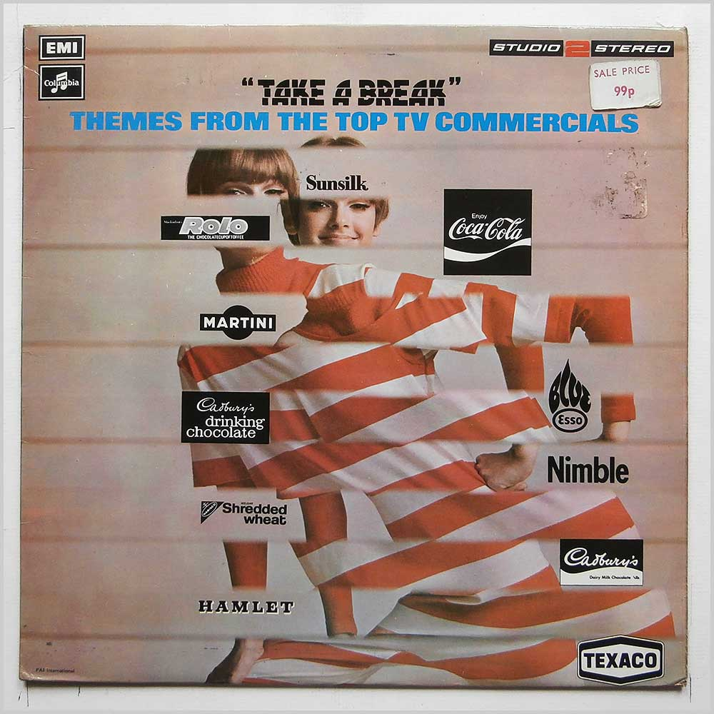 Various - Take A Break, Themes From The Top TV Commercials (TWO 382)