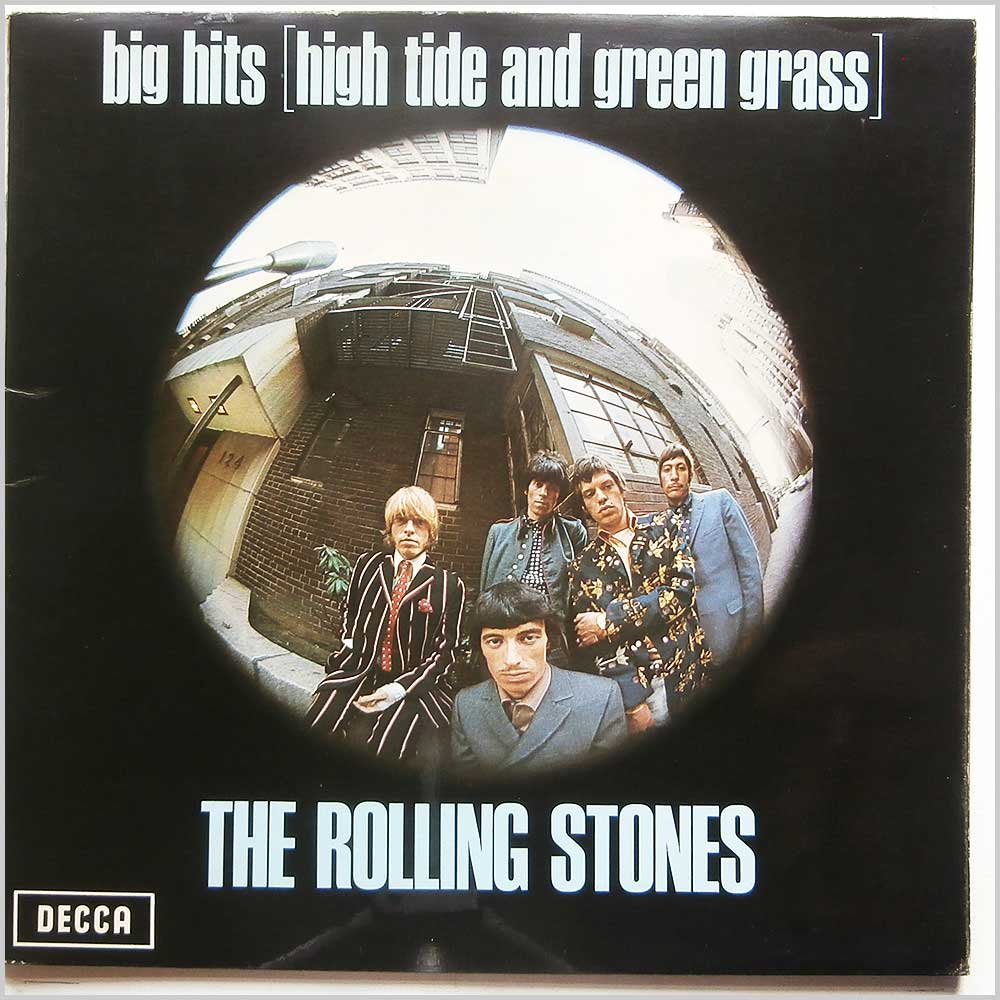 The Rolling Stones - Big Hits (High Tide And Green Grass) (TXS 101)