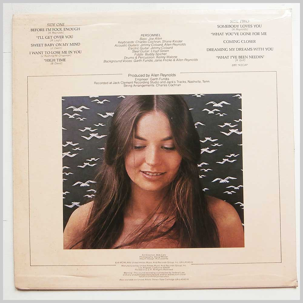 Crystal Gayle - Somebody Loves You (UA-LA543-G)