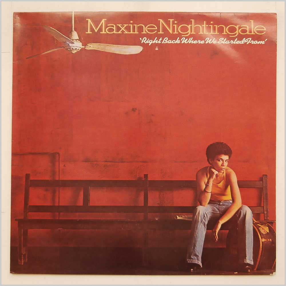 Maxine Nightingale - Right Back Where We Started From (UAS 29953)