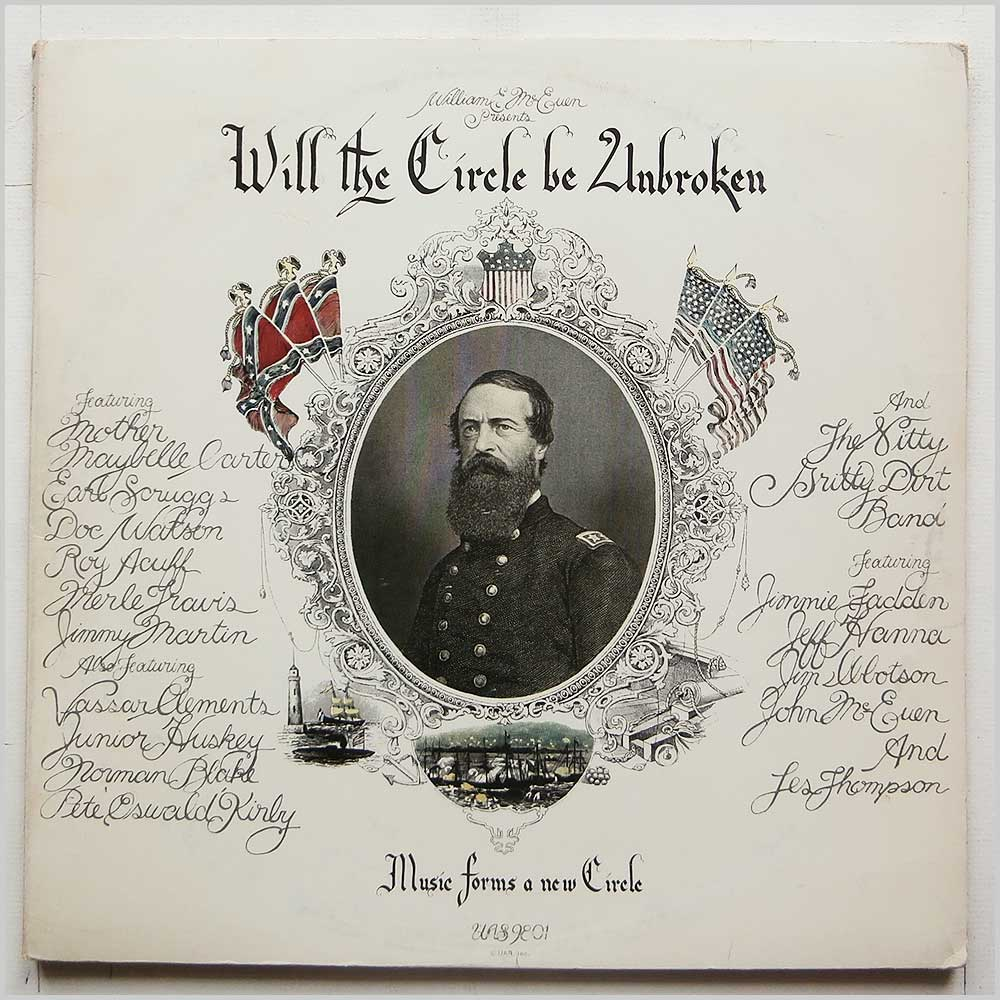 Nitty Gritty Dirt Band - Will The Circle Be Unbroken (UAS 9801)