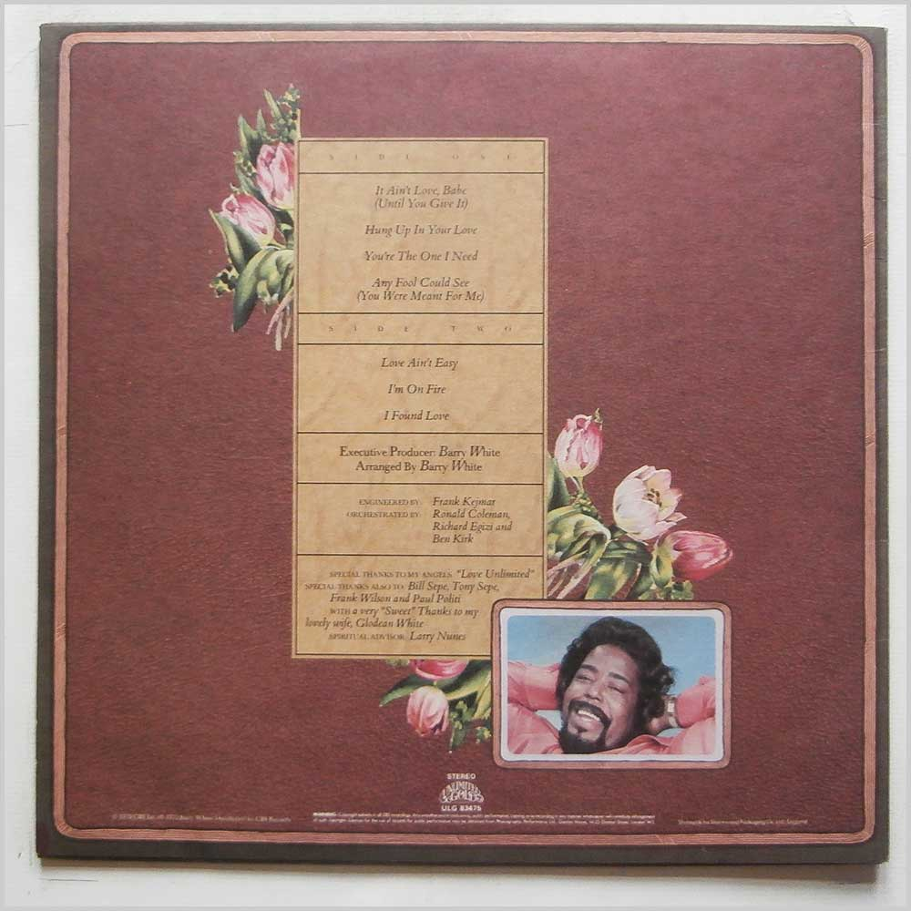 Barry White - The Message Is Love (ULG 83475)