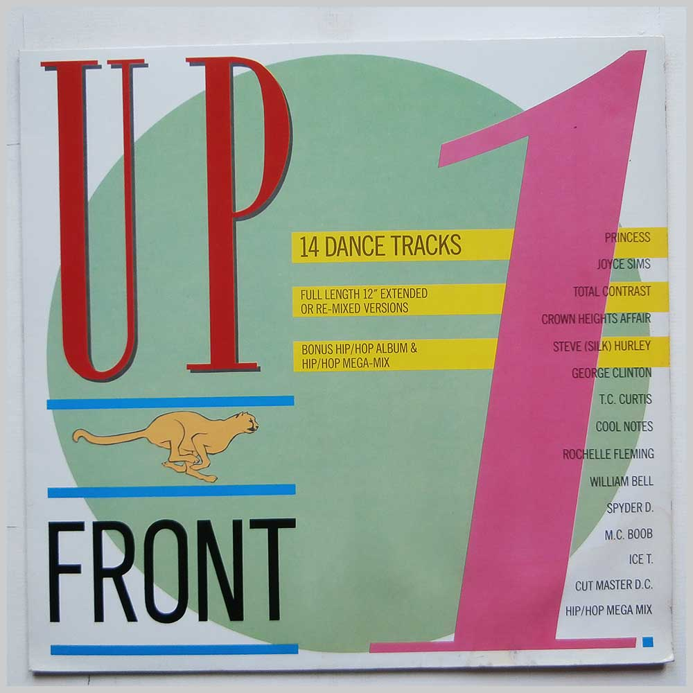 Various - UpFront 1: 14 Dance Tracks (UP FT 1)