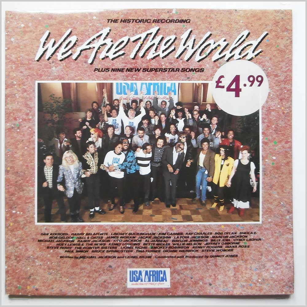 USA For Africa - We Are The World, The Album (USAIDF1)
