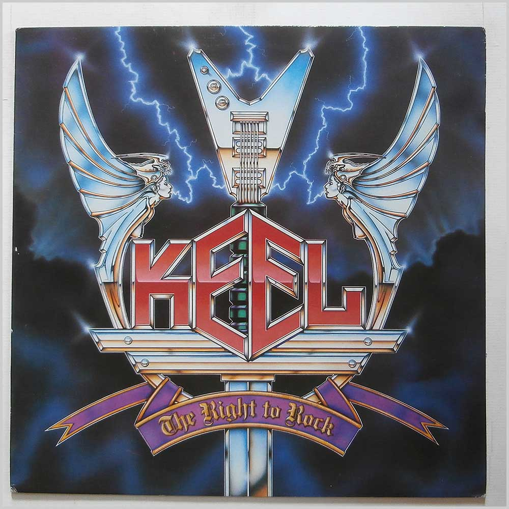 Keel - The Right To Rock (VERL 26)