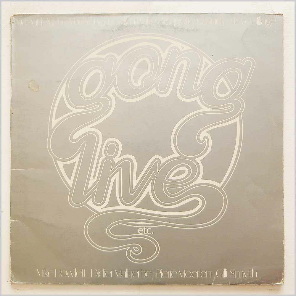 Gong - Gong Live Etc (VGD 3501)