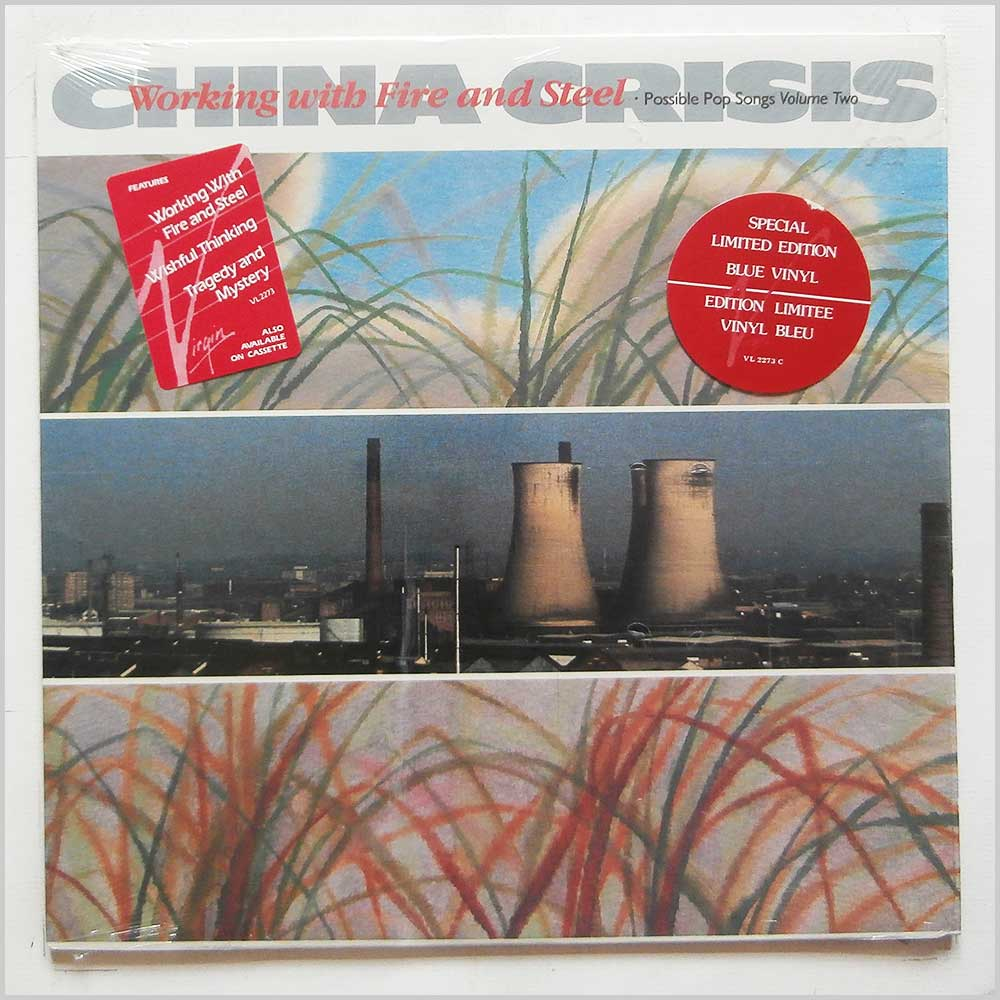 China Crisis - Working With Fire And Steel (Possible Pop Songs Volume Two) (VL 2273)