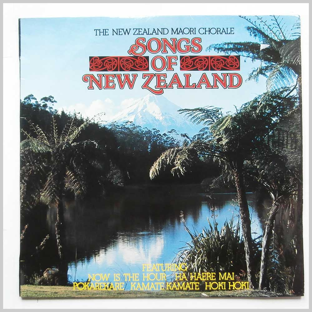The New Zealand Maori Chorale - Songs Of New Zealand (VP425)