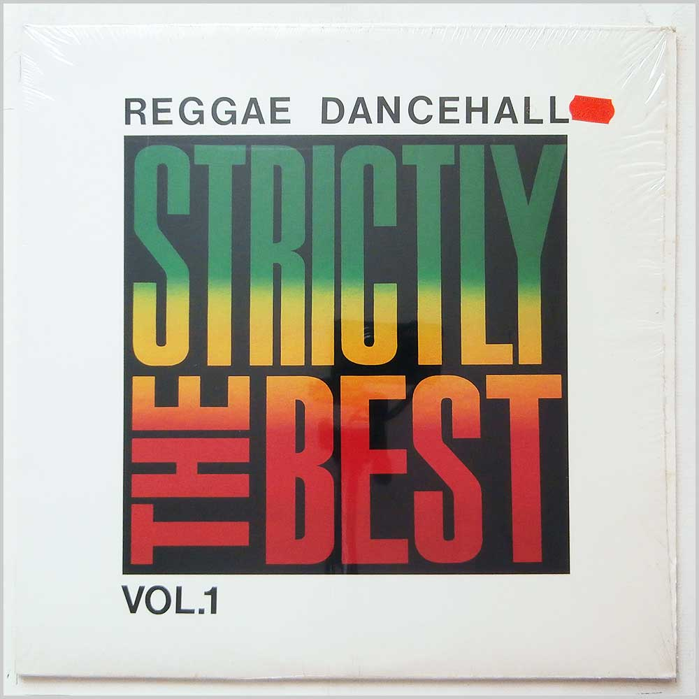 Various - Reggae Dancehall: Strictly The Best Vol. 1 (VPRL1112)
