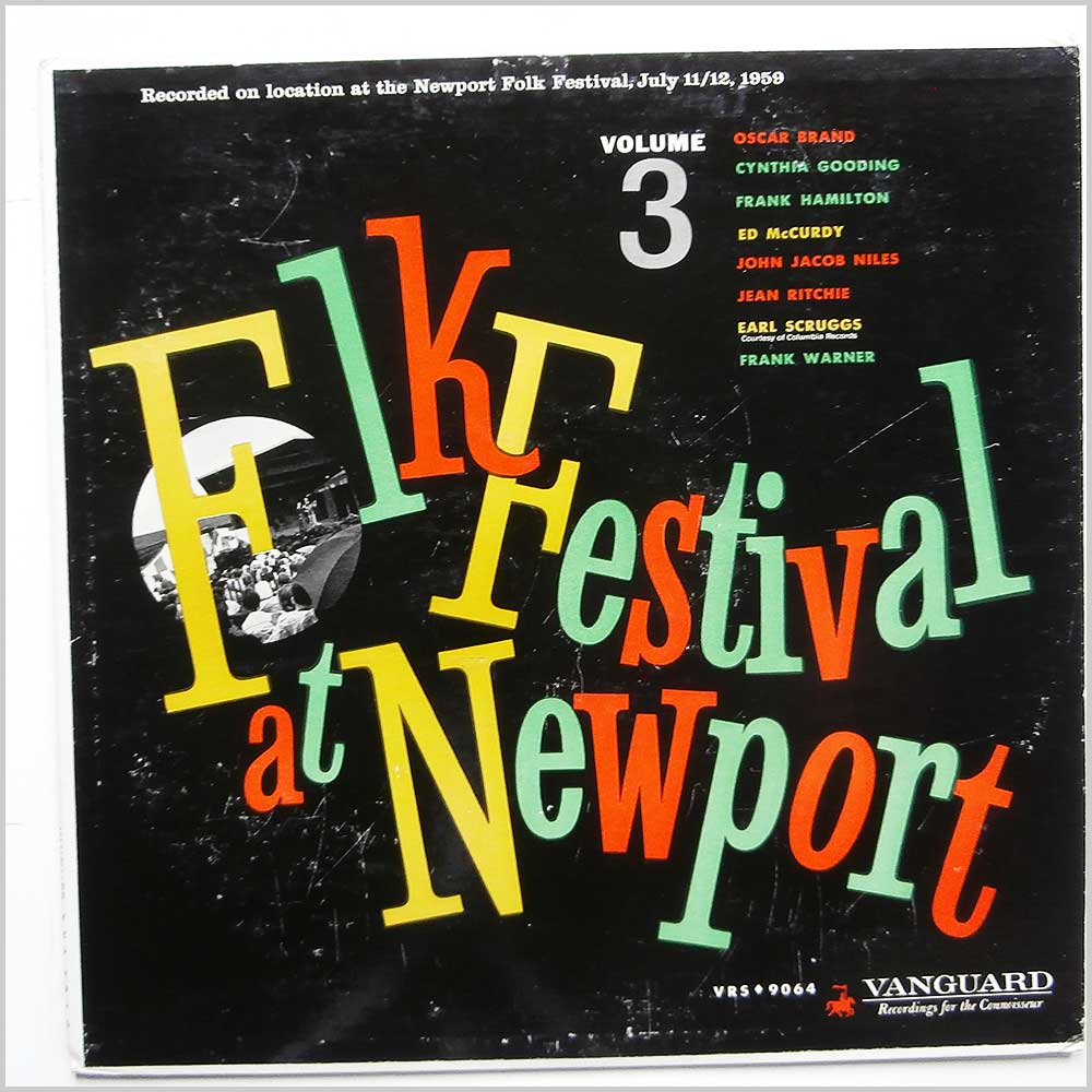 Various - Folk Festival at Newport Volume 3 (VRS 9064)