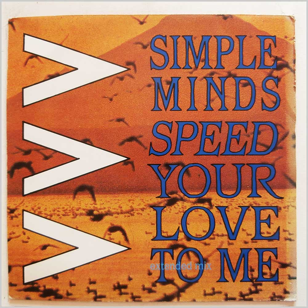 Simple Minds - Speed Your Love To Me (Extended Mix) (VS 649-12)