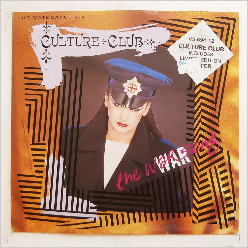 Culture Club - The War Song (Ultimate Dance Mix) (VS 694-12)