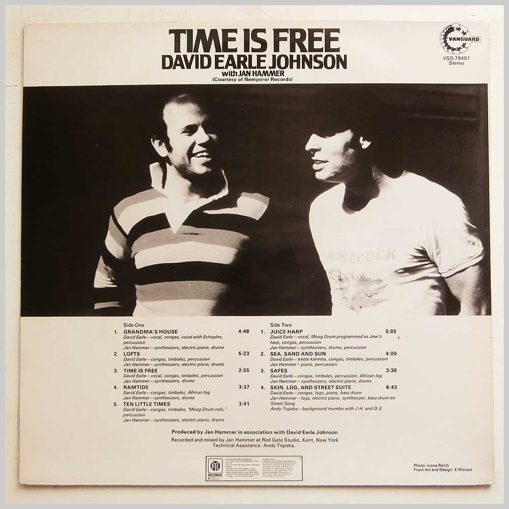 David Earle Johnson - Time Is Free (VS 79401)