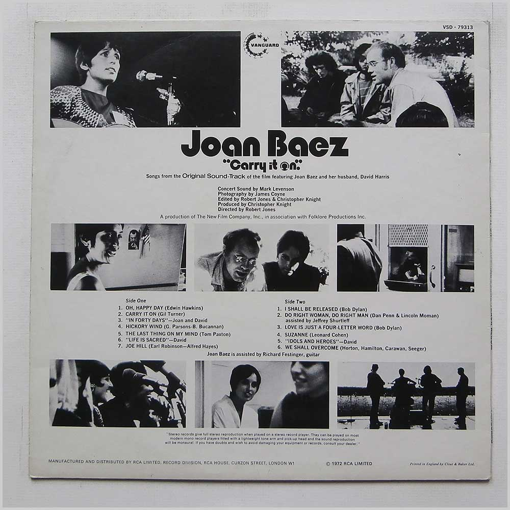 Joan Baez - Carry It On (VSD 79313)