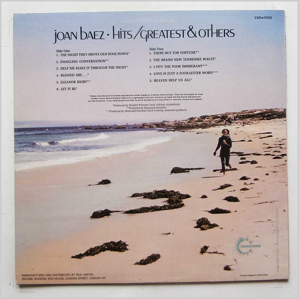 Joan Baez - Hits: Greatest and Others (VSD 79332)