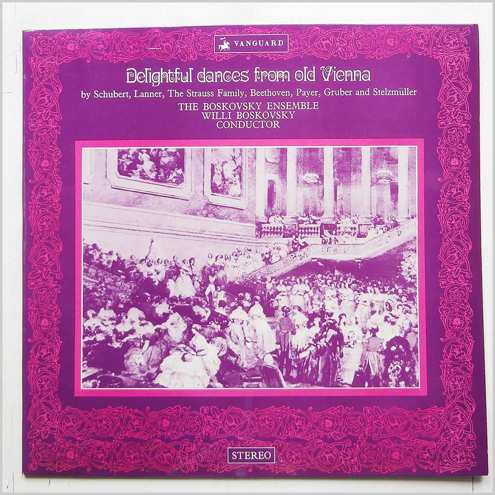 The Boskovsky Ensemble  - Delightful Dances From Old Vienna (VSL 11058)