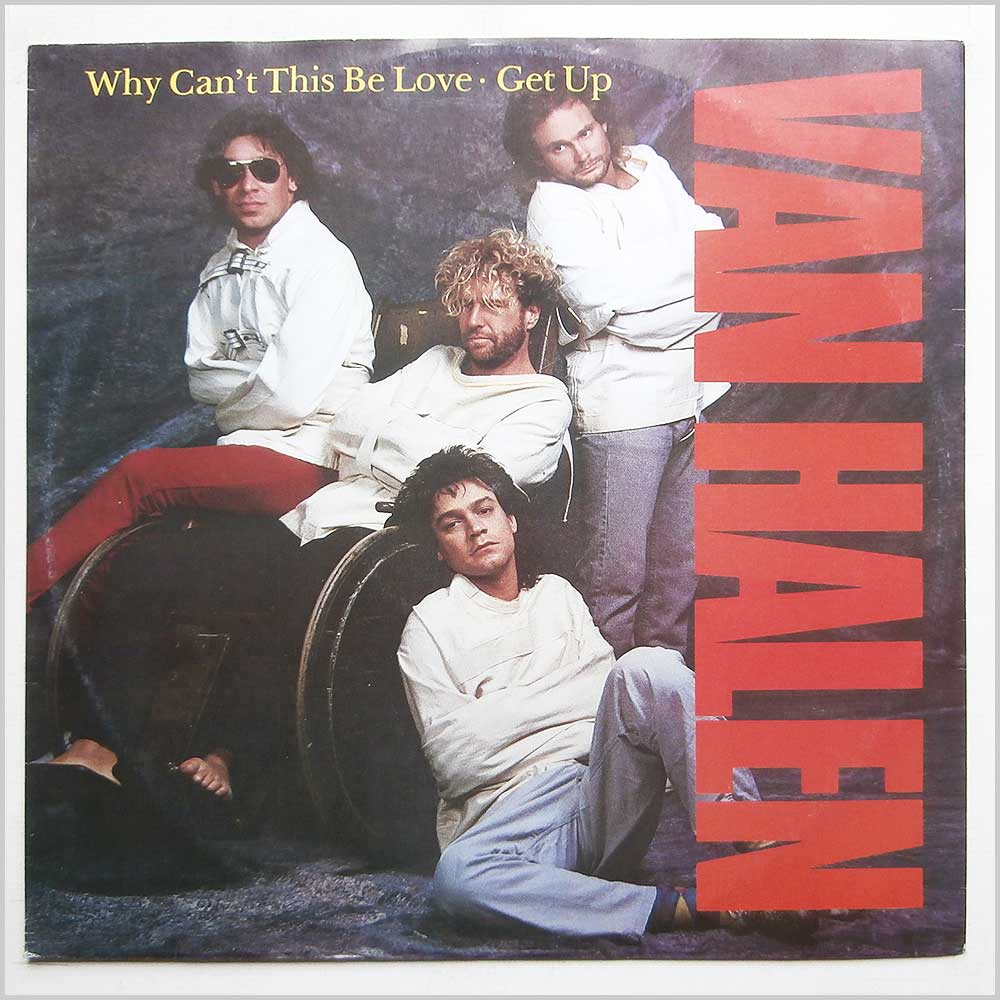 Van Halen - Why Can't This Be Love (W8740T)
