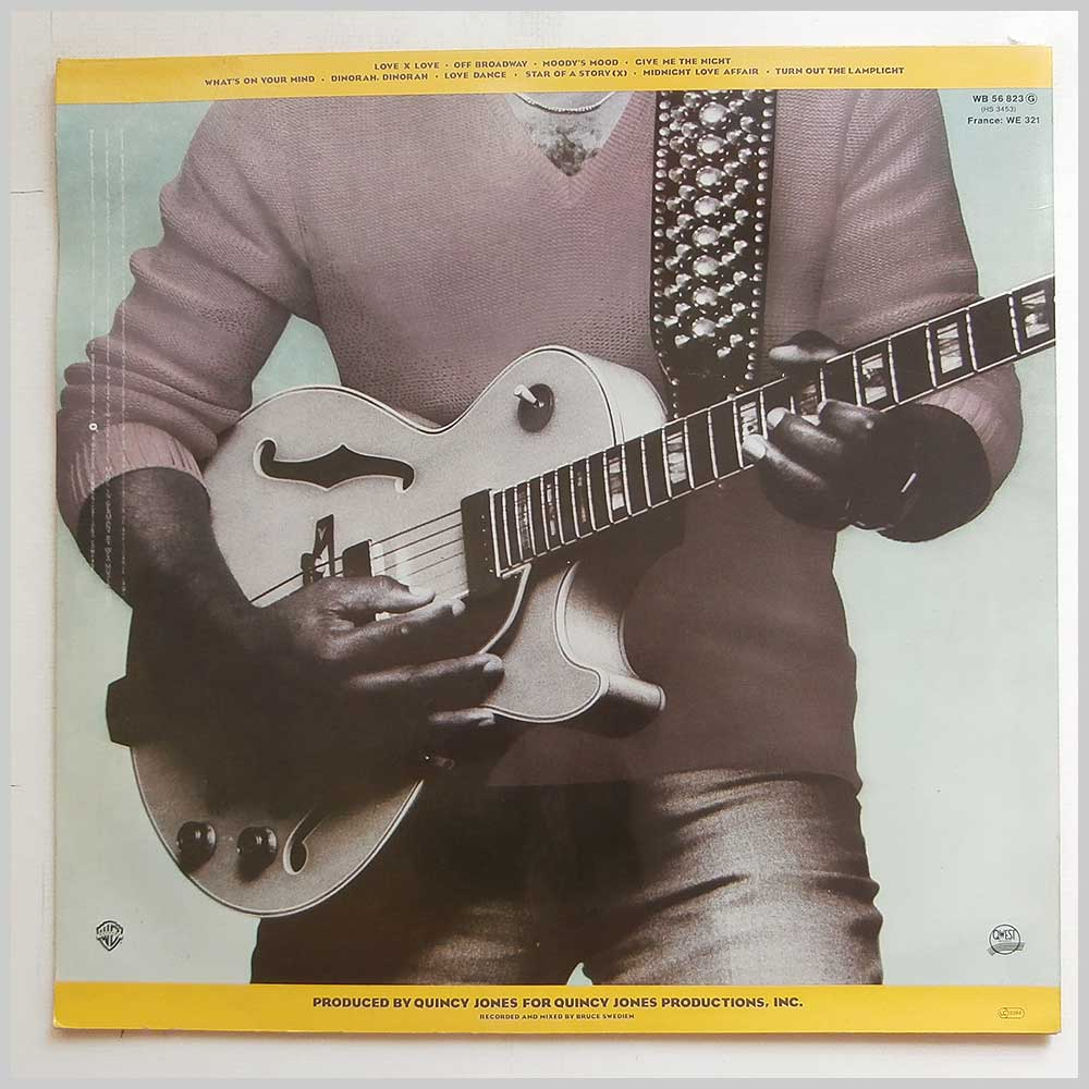 George Benson - Give Me The Night (WB 56 823)