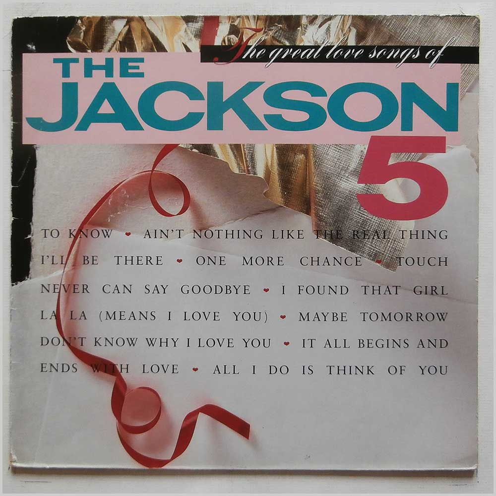 The Jackson 5 - The Great Love Songs Of The Jackson 5 (WL 72290)