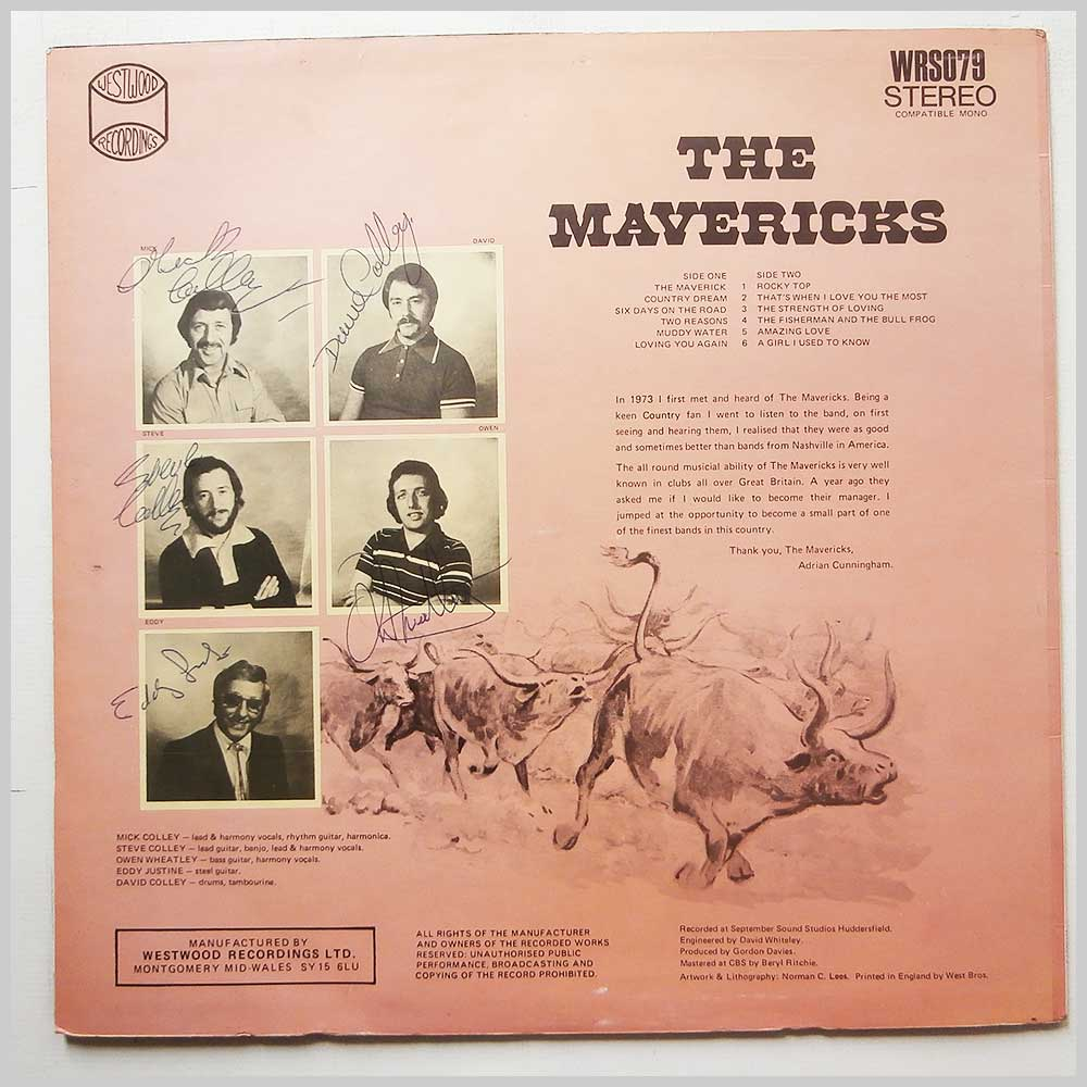 The Mavericks - Country Dream (WRS079)