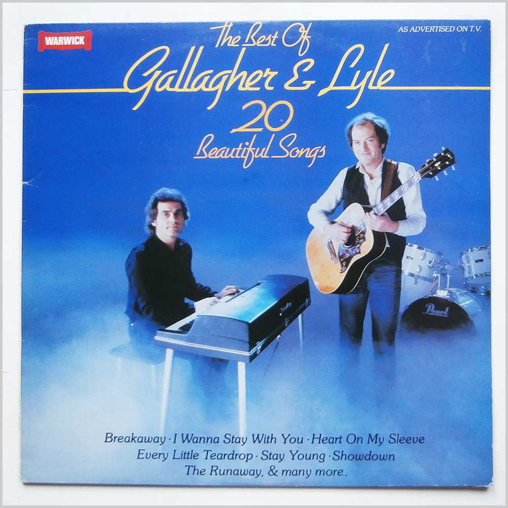 Gallagher And Lyle - The Best Of Gallagher And Lyle (WW 5080)
