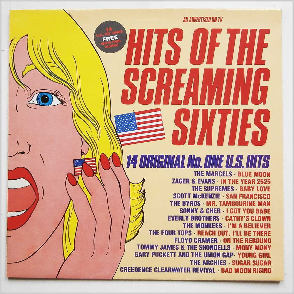 Various - Hits Of The Screaming Sixties (WW5125)
