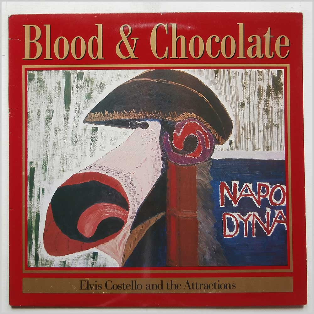 Elvis Costello And The Attractions - Blood And Chocolate (X FIEND 80)