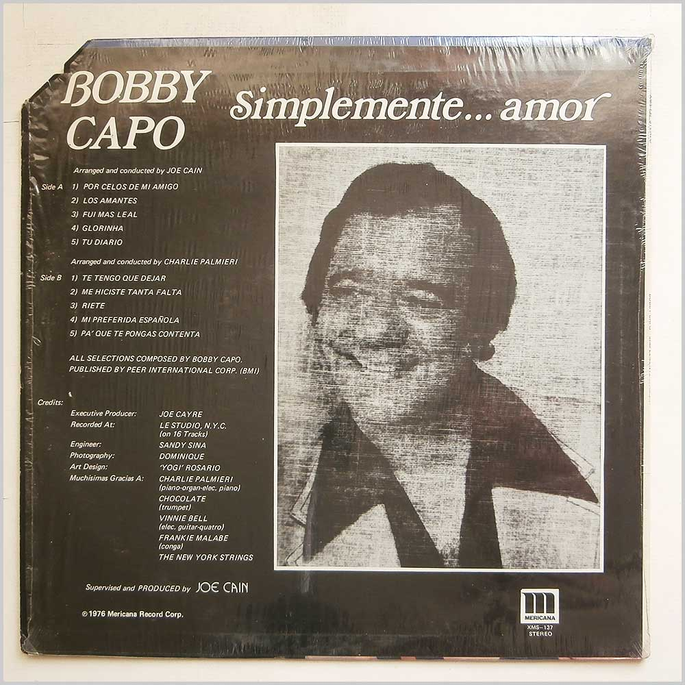 Bobby Capo - Simplemente Amor (XMS-137)