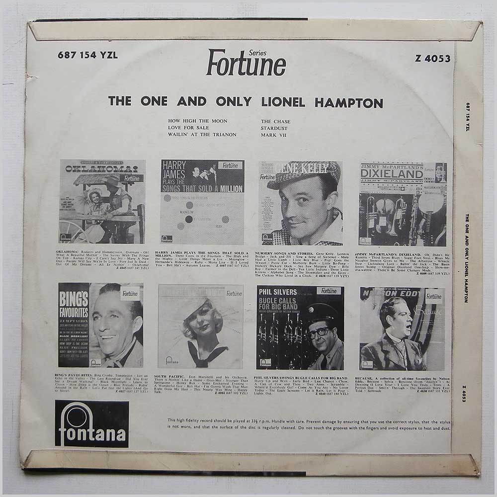 Lionel Hampton - The One And Only Lionel Hampton (Z 4053)
