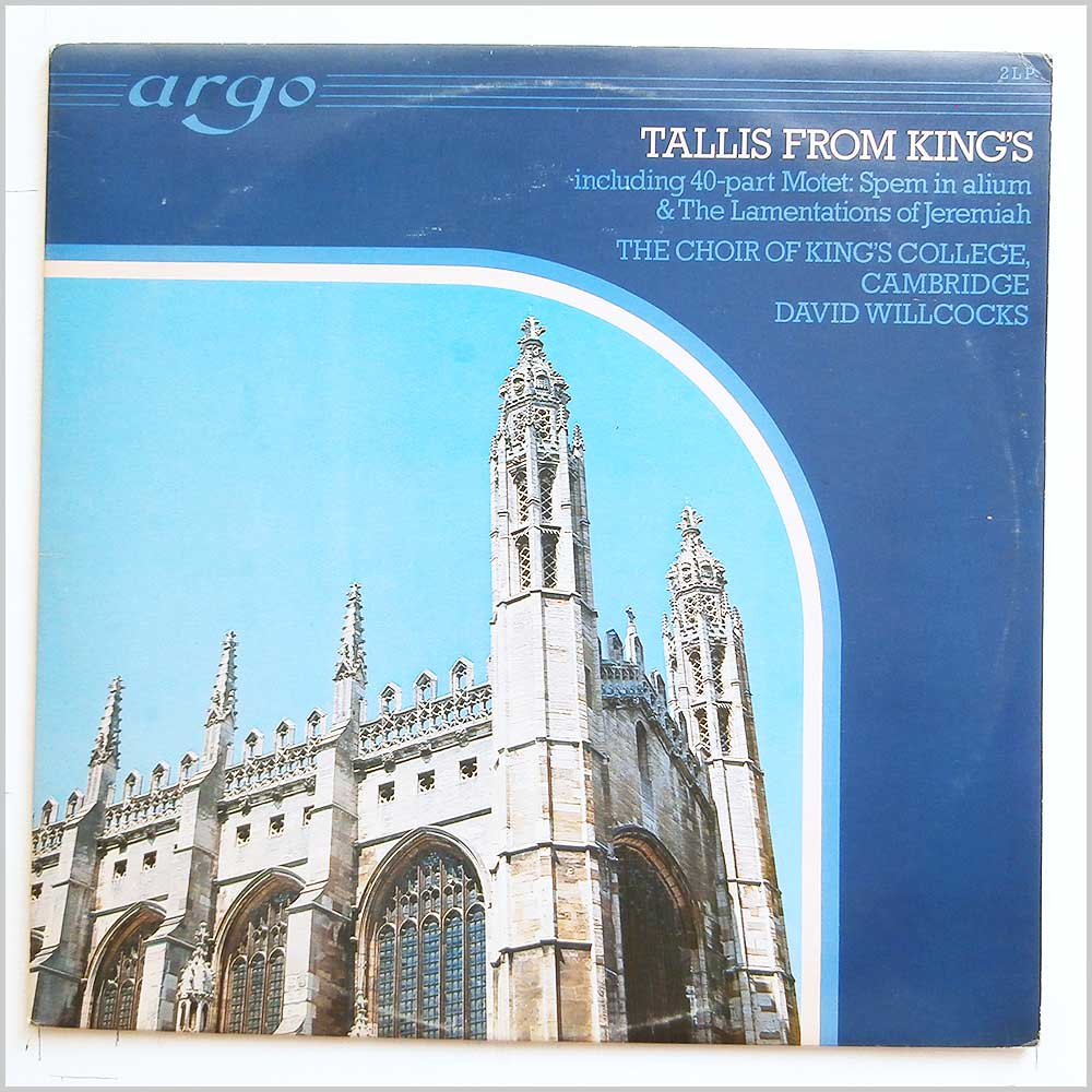 David Willcocks, The Choir Of King's College, Cambridge - Tallis From King's (ZK 30-31)