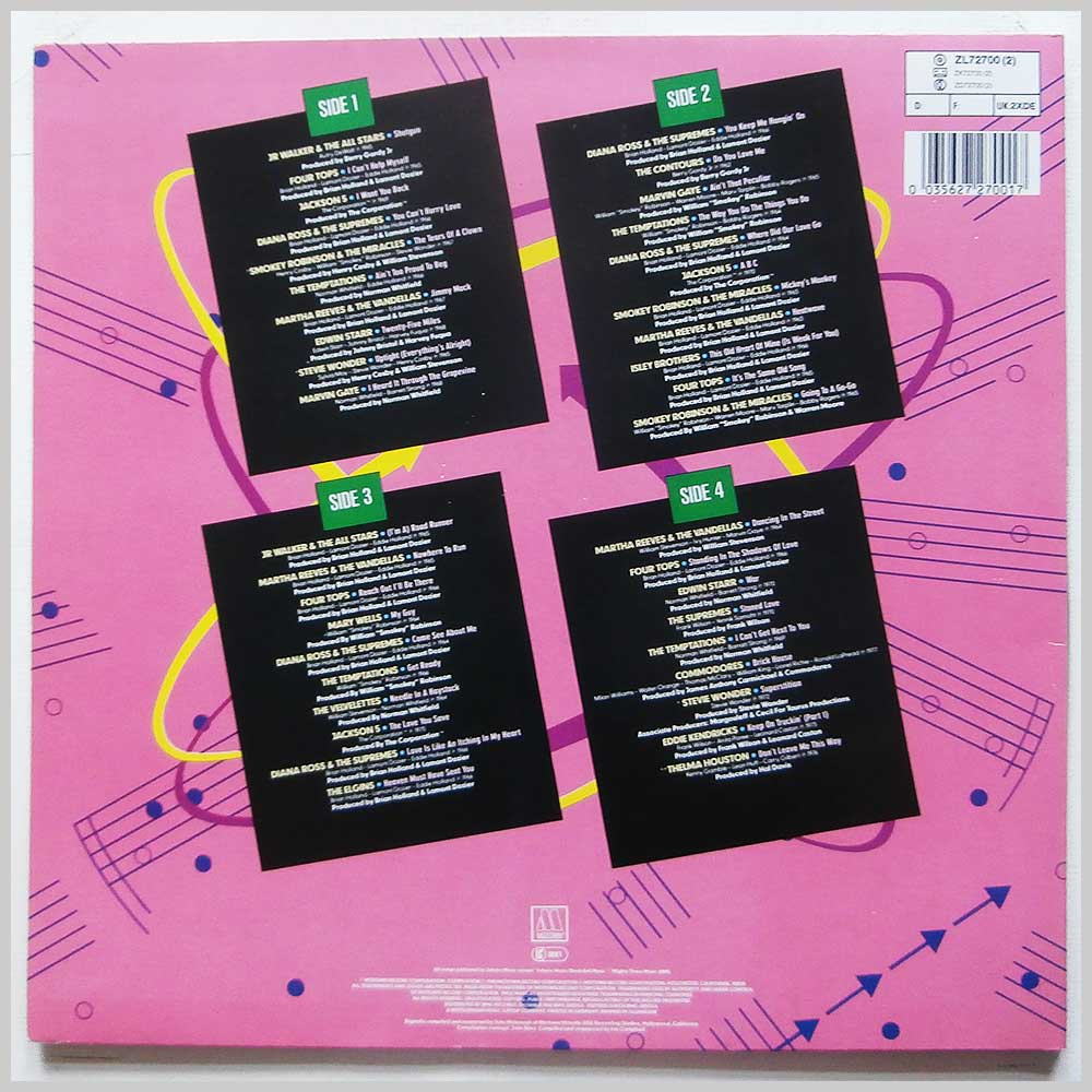Various - Motown Dance Party (ZL 72700 (2))