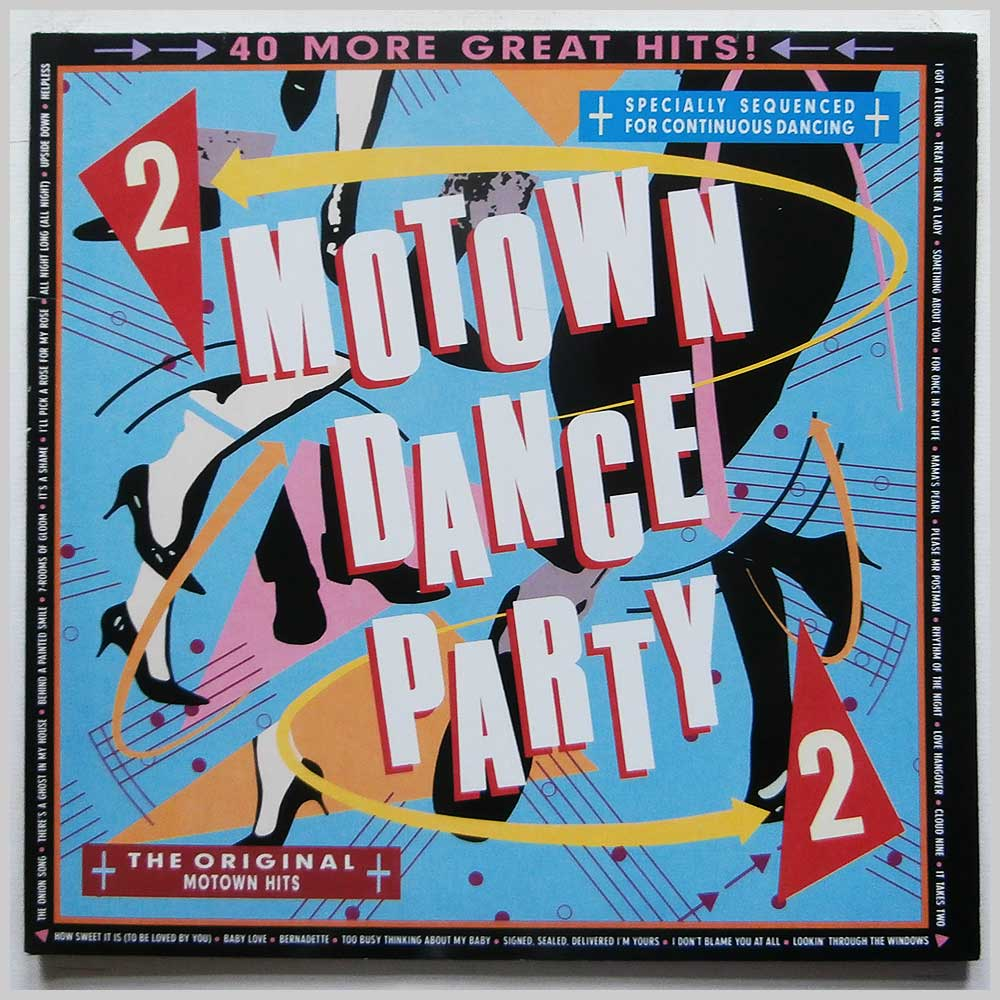 Various - Motown Dance Party 2 (ZL 72703 (2))