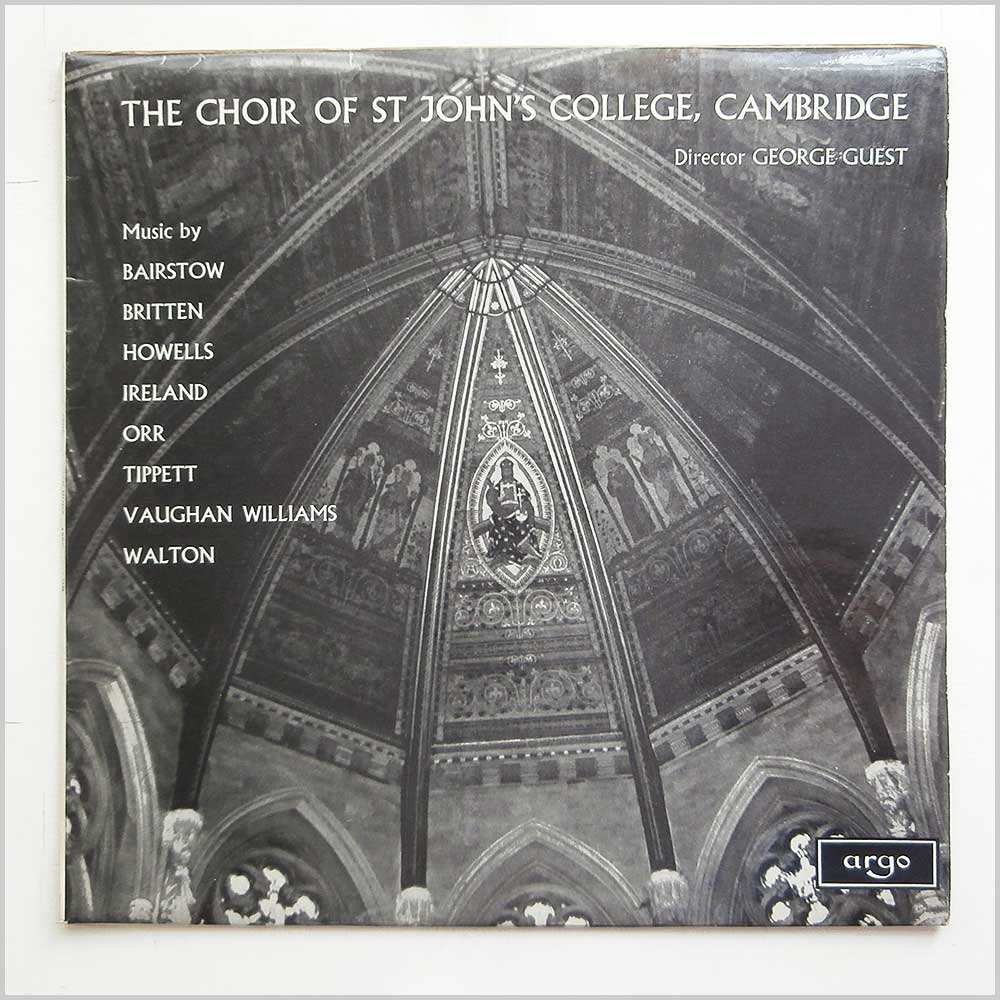 The Choir Of St. John's College, Cambridge - Twentieth Century Church Music (ZRG 5340)