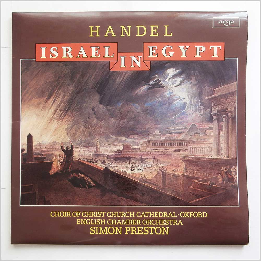 Choir Of Christchurch Cathedral and English Chamber Orchestra - Handel: Israel In Egypt (ZRG 817/8)
