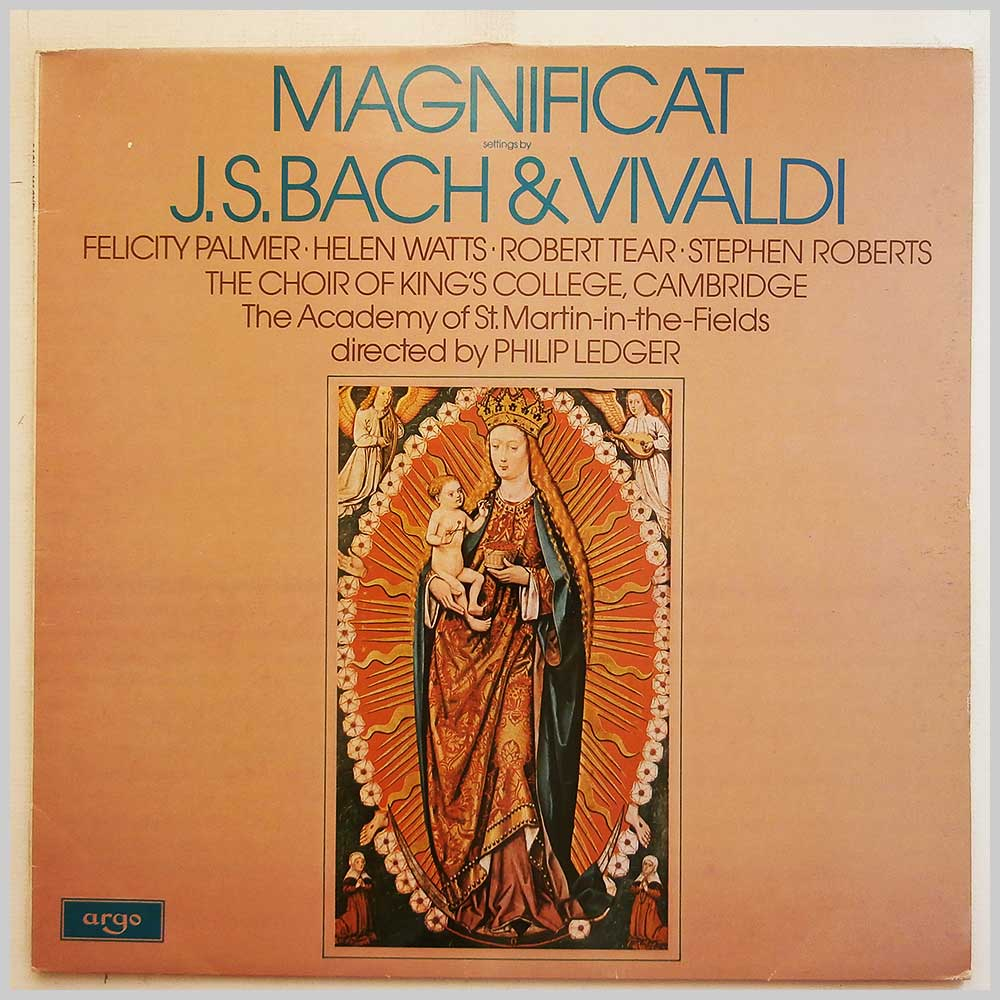 The Choir Of King's College, Cambridge - J.S.Bach and Vivaldi: Magnificat (ZRG 854)